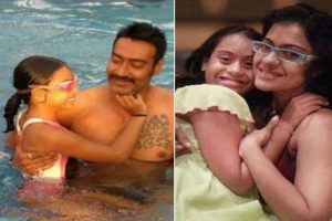 Ajay, Kajol wish Nysa on Daughters' Day