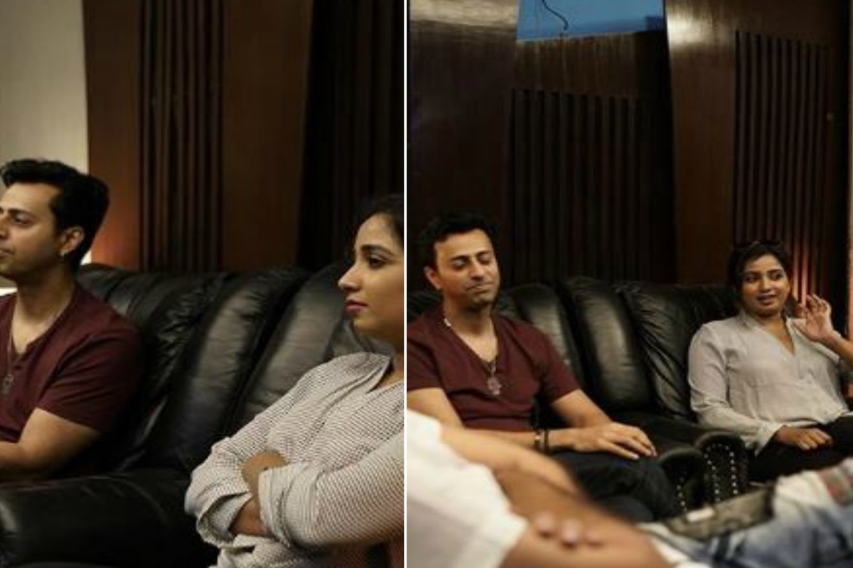 Salim Merchant, Shreya Ghoshal 'excited' for their new song