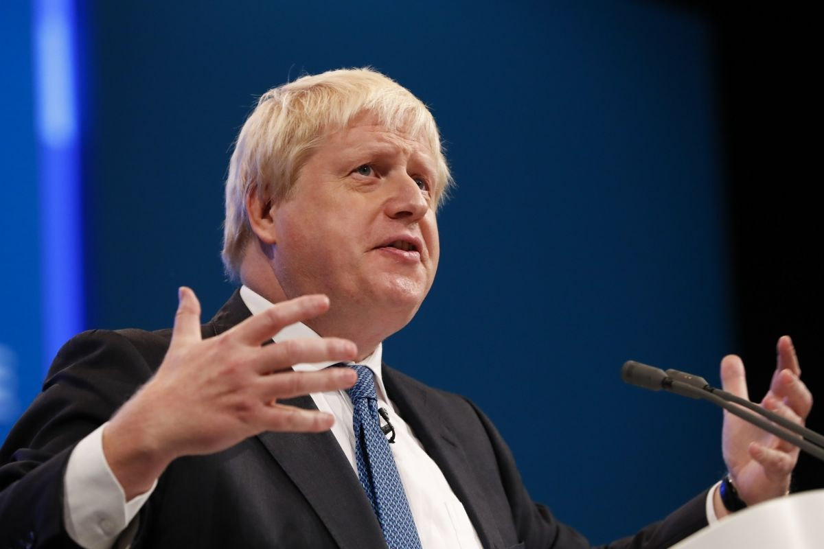 Police Trainee Falls Ill During UK PM Boris Johnson Speech