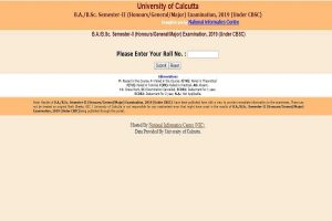 Calcutta University results 2019: B.A/B.Sc semester II results declared at wbresults.nic.in, check now