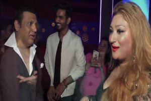 Govinda, wife flaunt cool moves at daughter's music video launch