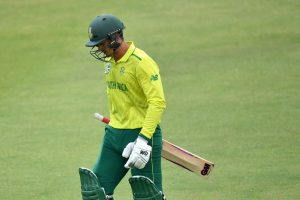 South Africa's T20 team arrives in India