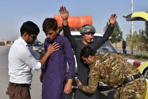 15 injured in blast hits Afghan polling centre