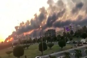 Drone attacks on Saudi Arabia's Aramco oil plants trigger fires amid tensions in Gulf