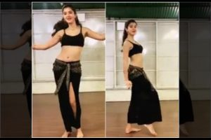 Shanaya Kapoor looks Bollywood ready as she shows off her belly dance moves