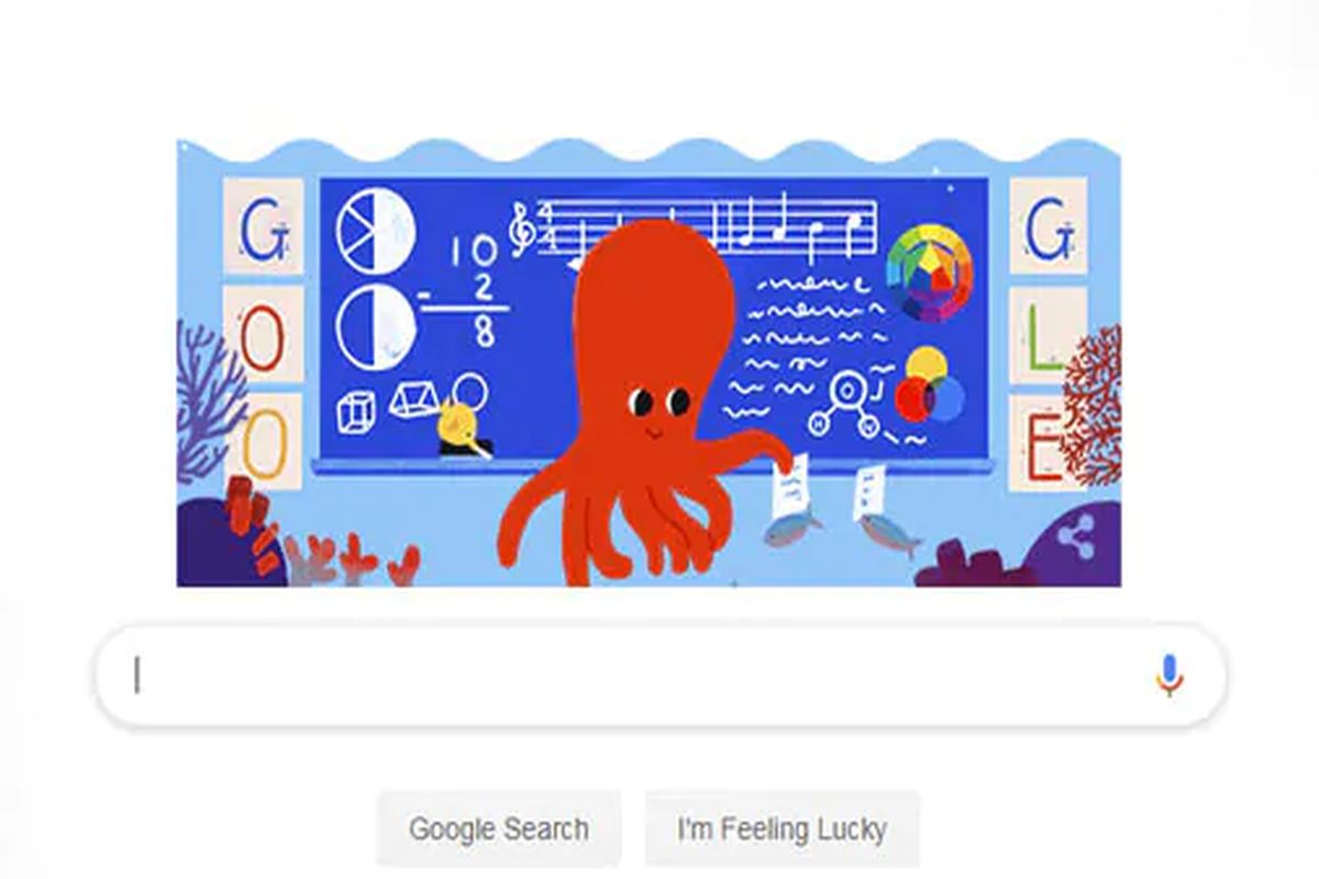 Google honours educators on Teachers' Day with animated doodle