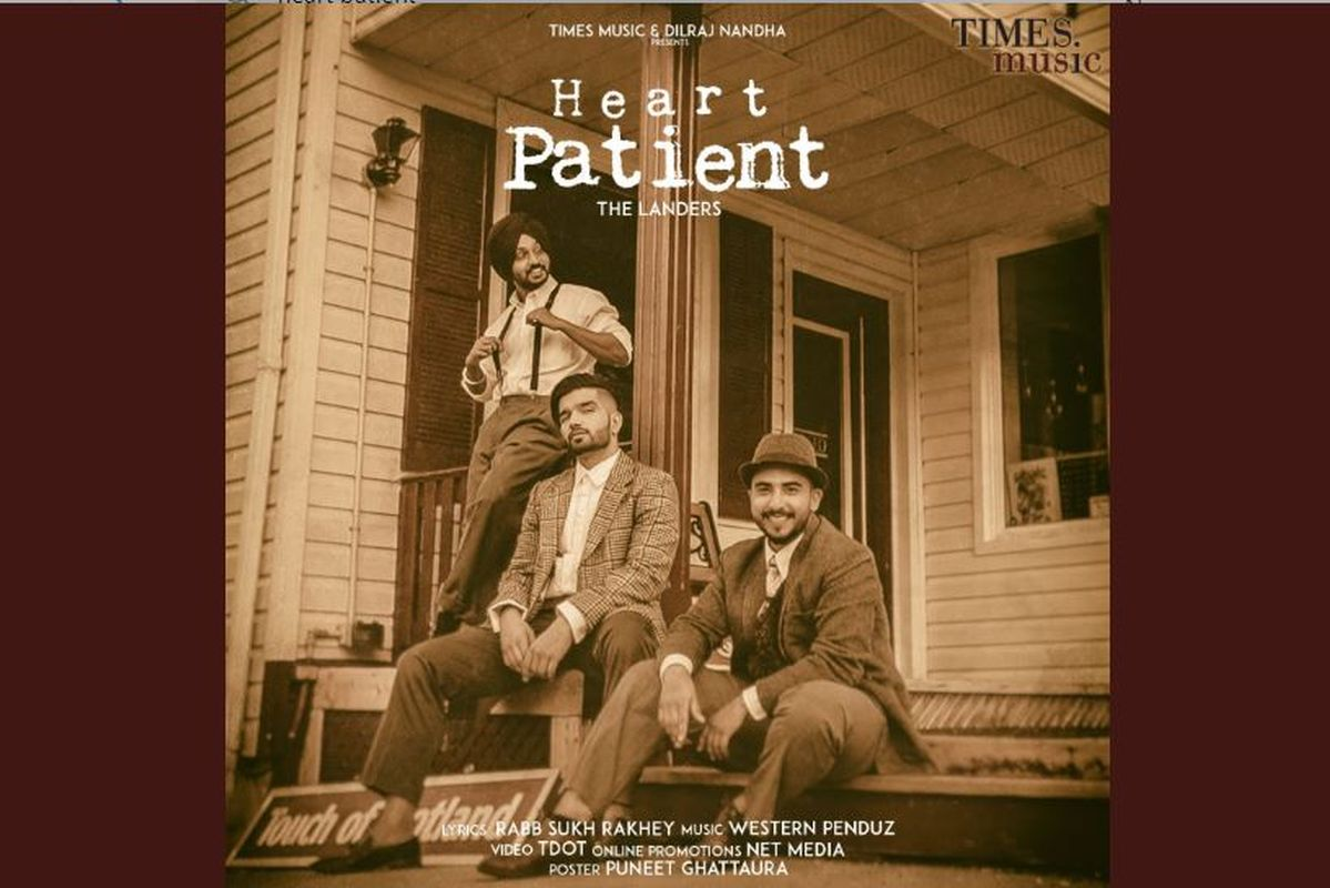 Listen to 'Heart Patient' by The Landers, a retro-styled quirky take on love