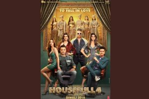 Akshay Kumar unveils Housefull 4 all star-cast poster