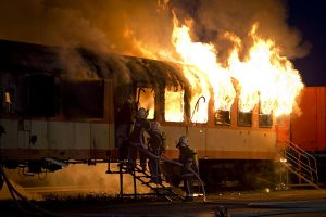 Chandigarh-Kochuvalli Express catches fire at New Delhi railway station