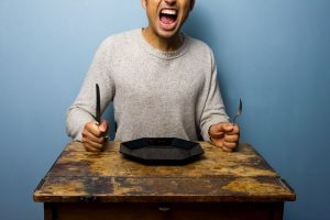 Why you shouldn't take major decisions on an empty stomach