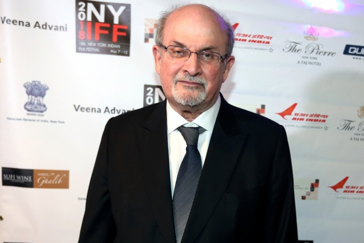 Salman Rushdie's 'Quichote' shortlisted for 2019 Booker Prize