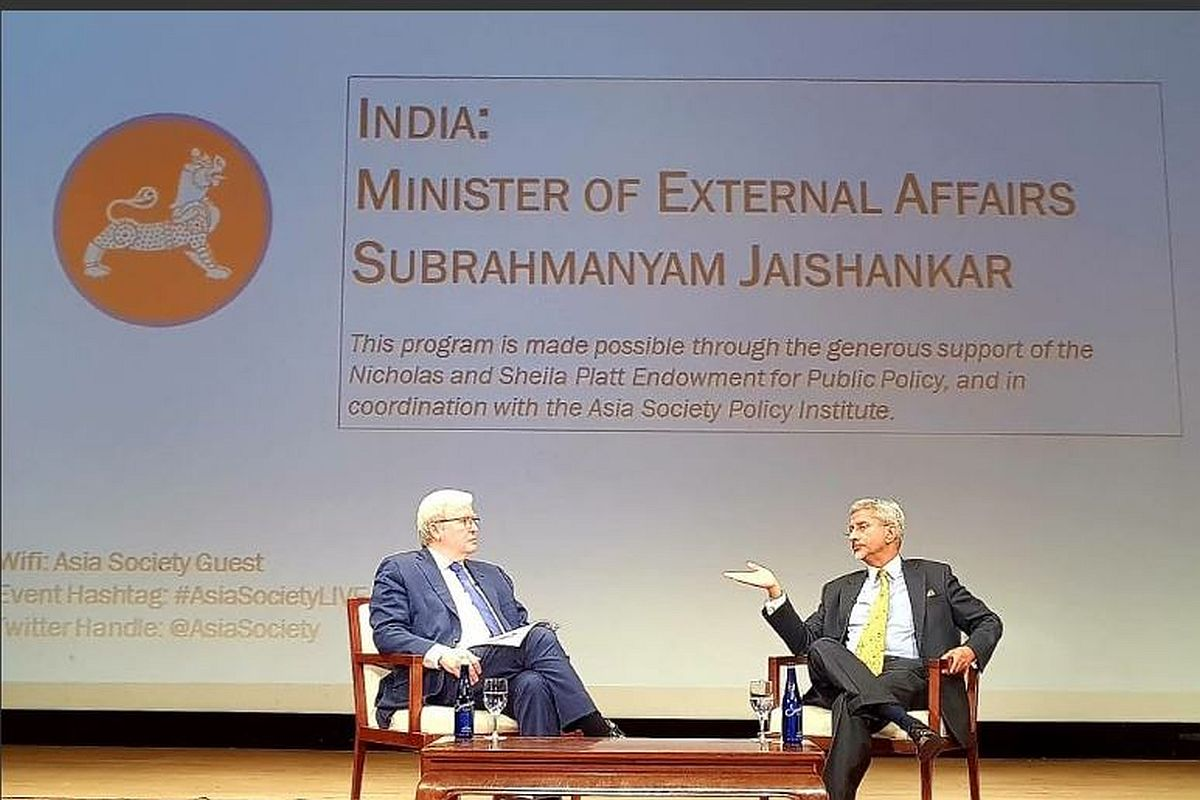 'India has no problem talking to Pakistan, but won't talk to Terroristan': S Jaishankar