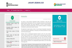 JEE Main 2020: Online registration process to end soon, apply now at jeemain.nic.in