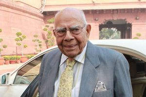 Leaders and lawyers pay tributes to Ram Jethmalani