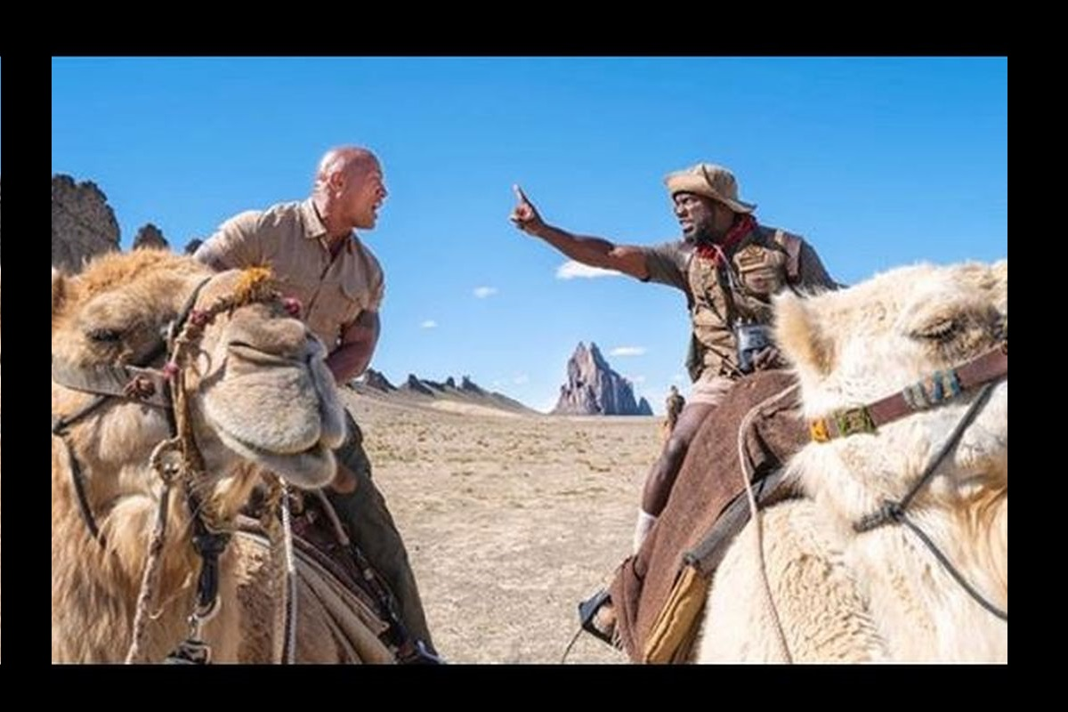 Kevin Hart, Dwayne Johnson, Los Angeles, Central Intelligence, Jumanji: Welcome to the Jungle, Fast & Furious Presents: Hobbs & Shaw, Mulholland Highway, Jumanji: The Next Level