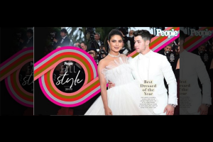 Priyanka and Nick are 'People' magazine's Best Dressed for 2019