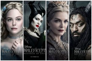Character posters of Maleficent: Mistress of Evil released