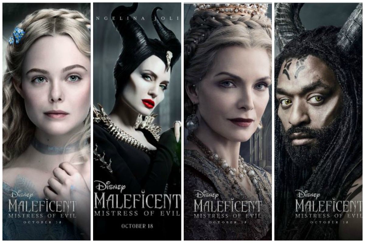 Character Posters Of Maleficent Mistress Of Evil Released