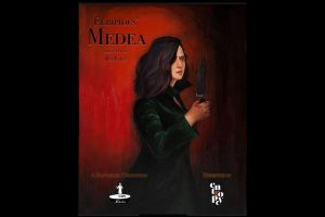 Official poster of Ira Khan's theatre directorial debut Euripides' Medea out