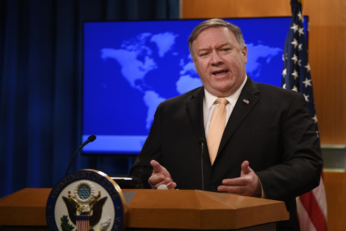 Pompeo Condemns Iran following Drone Attacks on Saudi