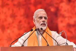 'Sardar Patel's vision an inspiration for move in Kashmir,' says PM Modi in Gujarat