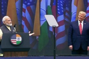 Modi-Trump bonhomie wows world at Howdy, Modi event in Houston