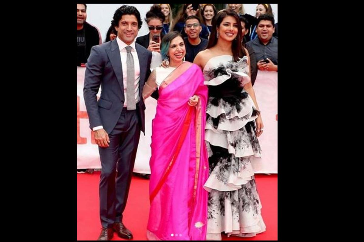 Priyanka Chopra Jonas, The Sky Is Pink , Instagram, Toronto International Film Festival, Zaira Wasim, Farhan Akhtar, Shonali Bose, Rohan Saraf, Ronnie Screwvala, Siddharth Roy Kapur,