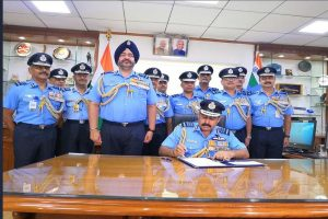 Air Chief Marshal Rakesh Kumar Singh Bhadauria takes charge as IAF chief