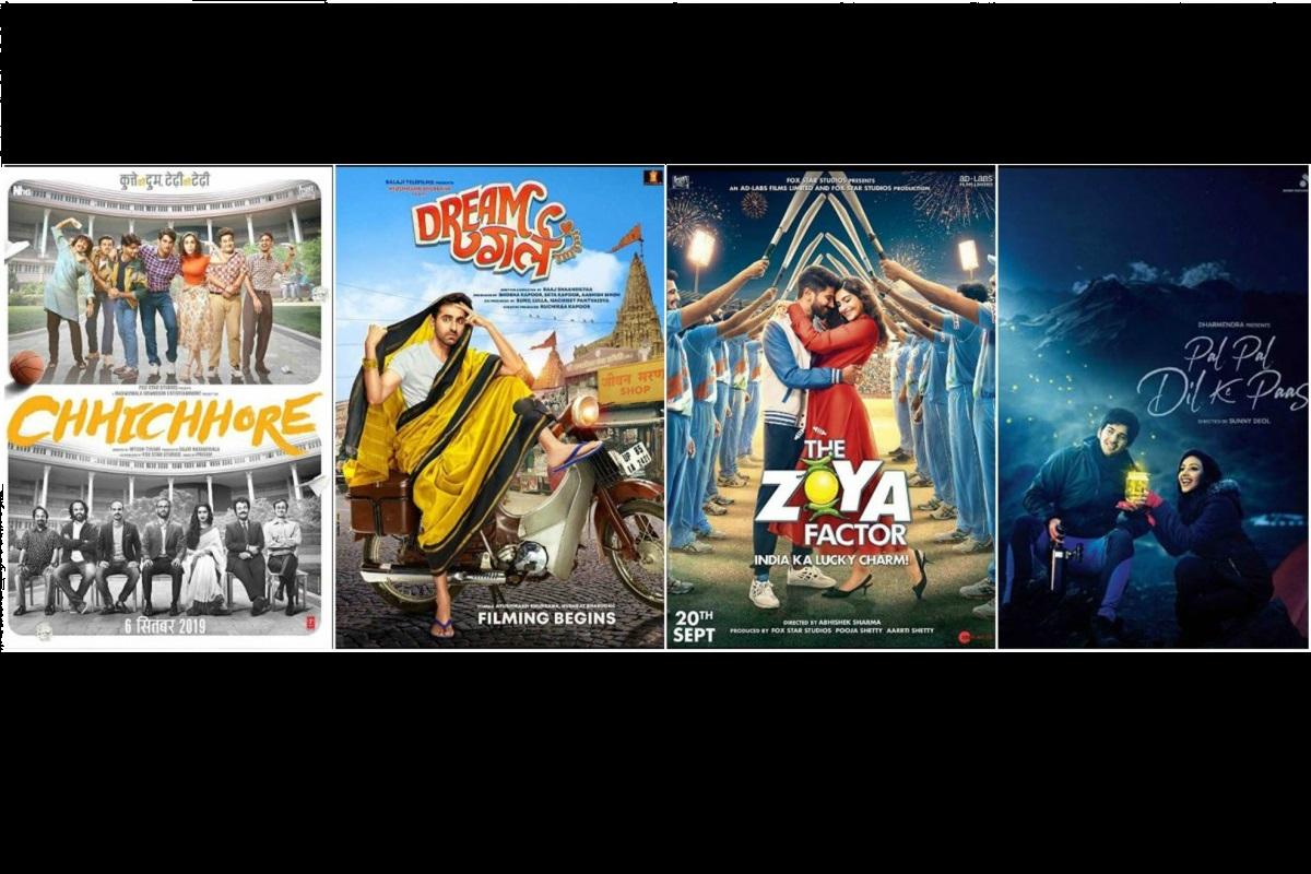 box office, Pal Pal Dil Ke Paas, Taran Adarsh, The Zoya Factor, Sonam Kapoor, Dulquer Salmaan, Chhichhore, Dream Girl