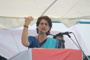 Priyanka Gandhi accuses UP Government of using farmers for advertisement