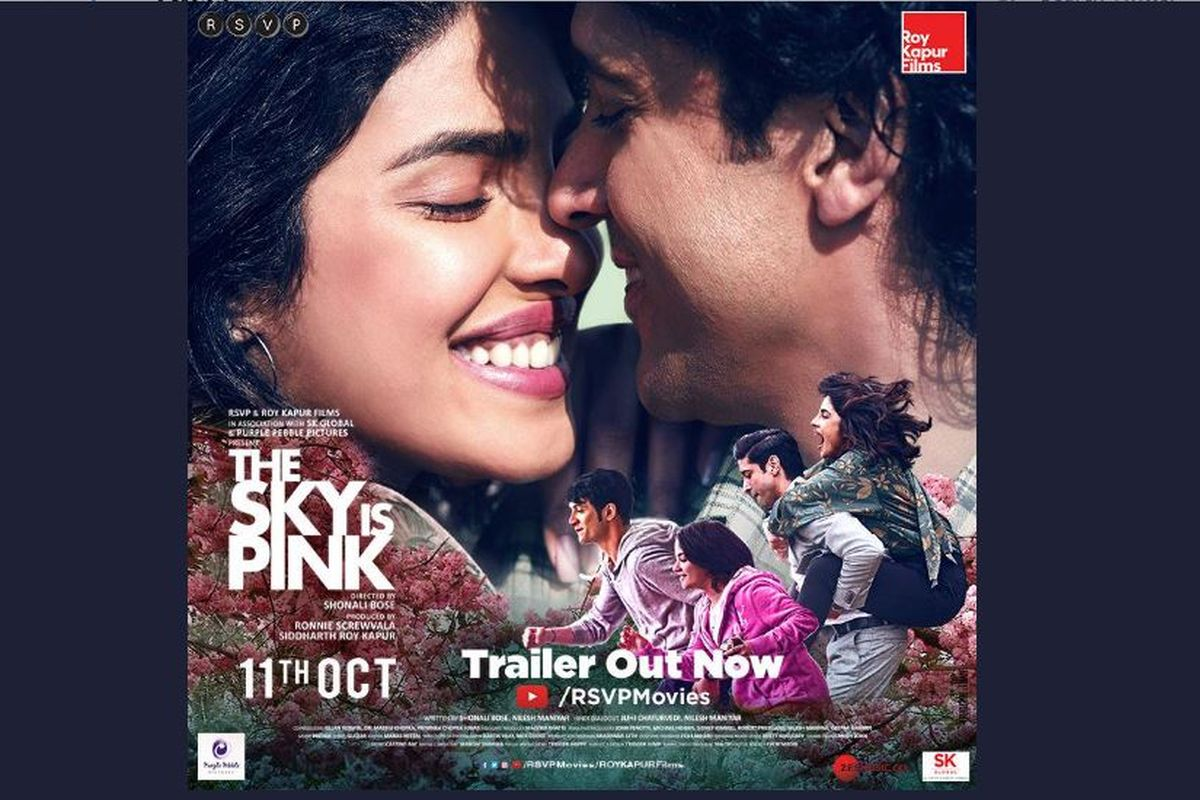 The Sky Is Pink trailer, The Sky is Pink, Priyanka Chopra, Farhan Akhtar, Zaira Wasim, Rohit Saraf, Toronto International Film Festival, TIFF, Aisha Chaudhary