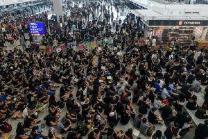 Hong Kong police bans planned protests for Sunday