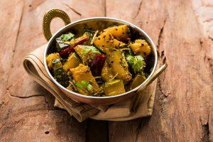 Shradh food recipe : Khatta Meetha Sitaphal (Pumpkin)