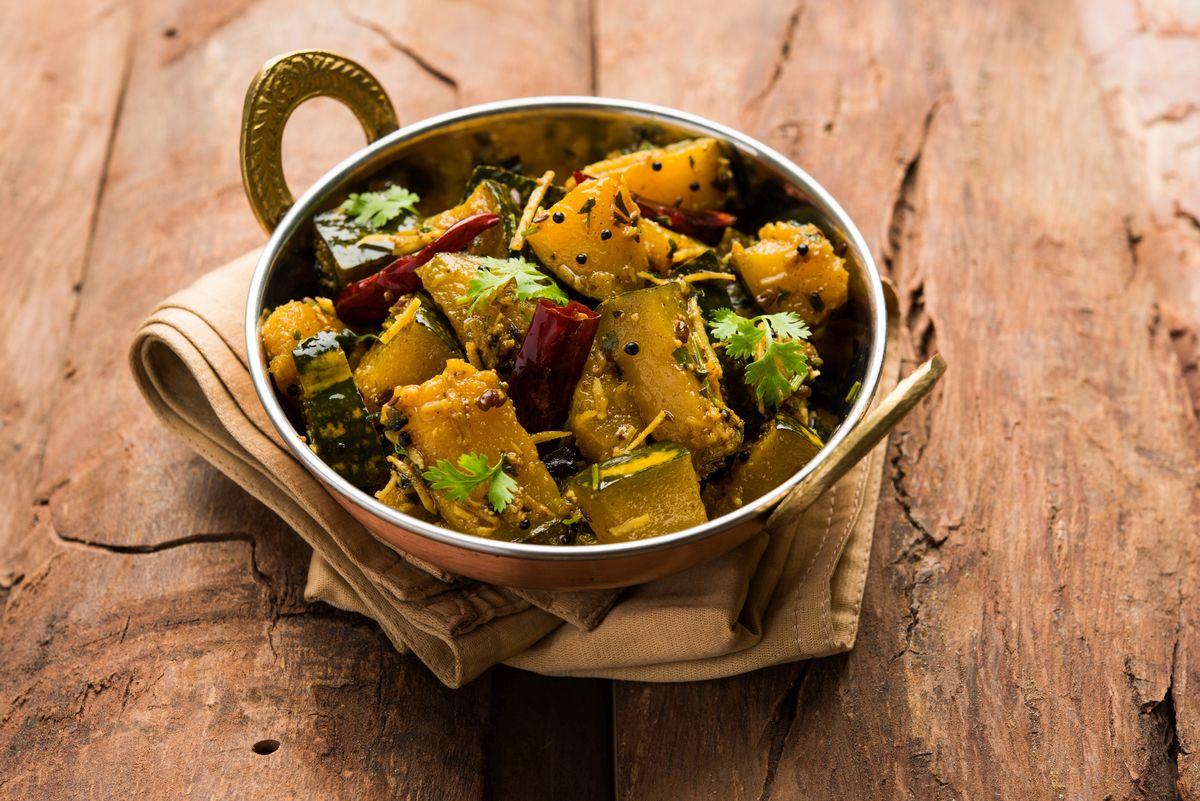 Sitaphal, recipe, Shradh, Shradh 2019, saatvik, pumpkin, method, preparation, Khatta Meetha Sitaphal, Pitru Paksh