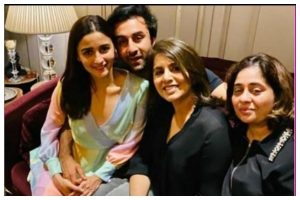 Ranbir Kapoor celebrates 37th birthday among family and friends