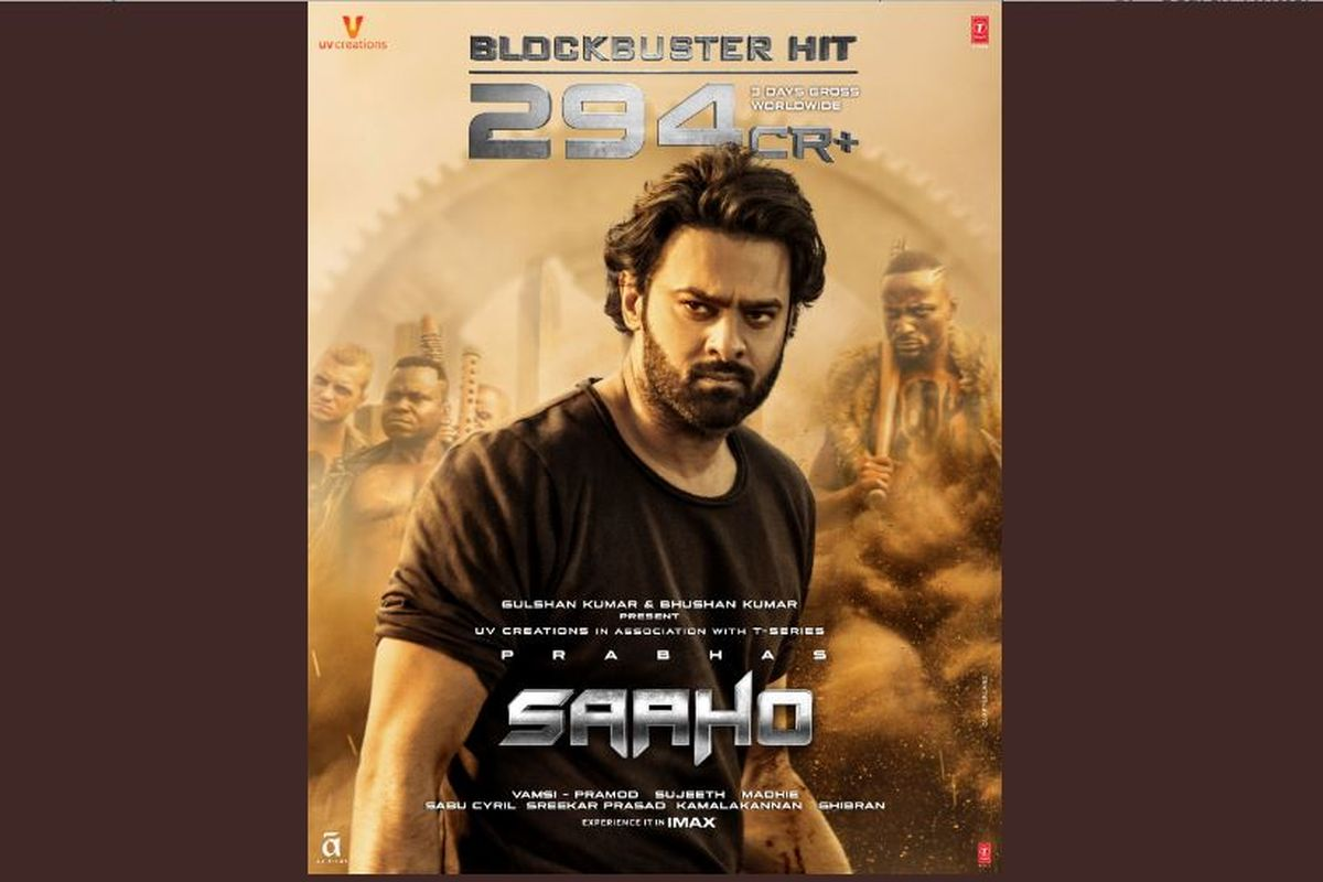 Despite plagiarism charges, Saaho continues its dream-run at box office