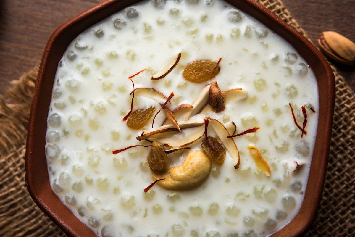 Navratri Special: Sabudana Kheer Recipe