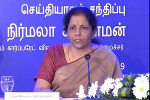 Task-force report will decide Infra funding: Sitharaman