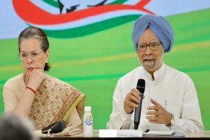Sonia Gandhi, Manmohan Singh reach Tihar to meet P Chidambaram