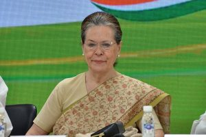 Congress interim president attacks BJP government for diluting RTI Act