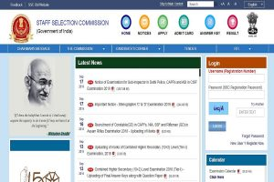 SSC GD marks 2019: Constable (GD) marks uploaded at ssc.nic.in, check now