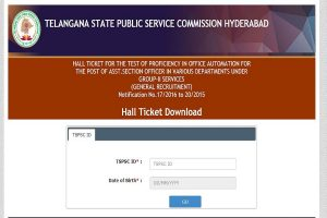 TSPSC Group 2 hall tickets 2019 released at tspsc.gov.in   Here's how to download admit cards