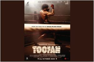 First look poster of Farhan Akhtar's Toofan out!