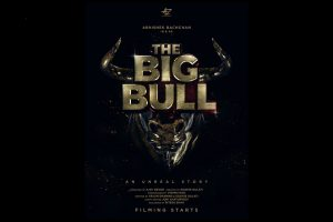 Abhishek Bachchan shares first look poster of his upcoming film 'The Big Bull'