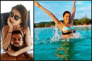 Anushka Sharma and Virat Kohli share envious vacation pics