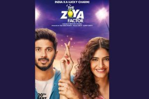 New poster of Sonam Kapoor starrer The Zoya Factor unveiled