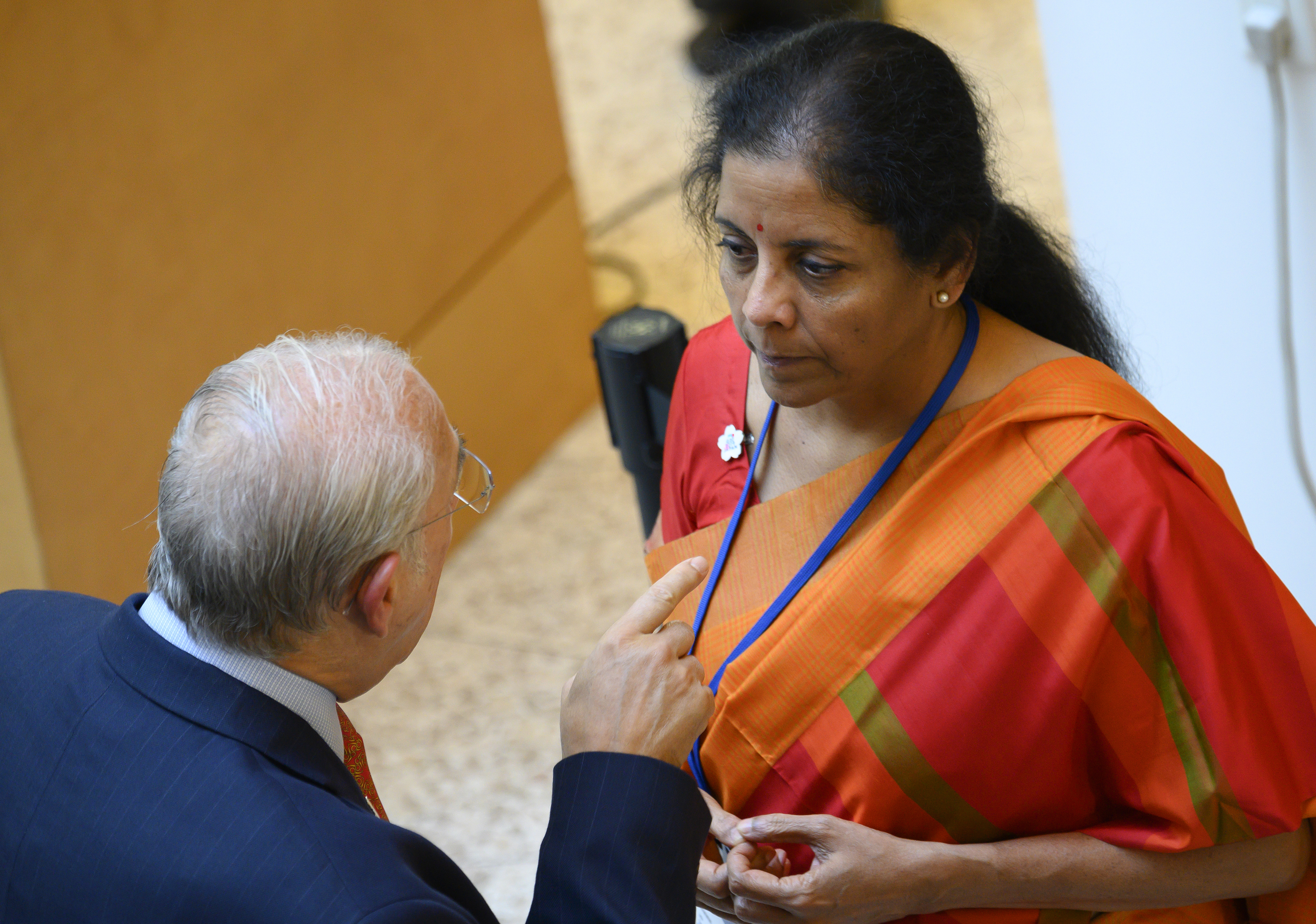 Lack of quota increase from International Monetary Fund disappointing: Nirmala Sitharaman