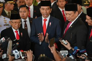 Following violent attacks Joko Widodo becomes President of Indonesia for second time