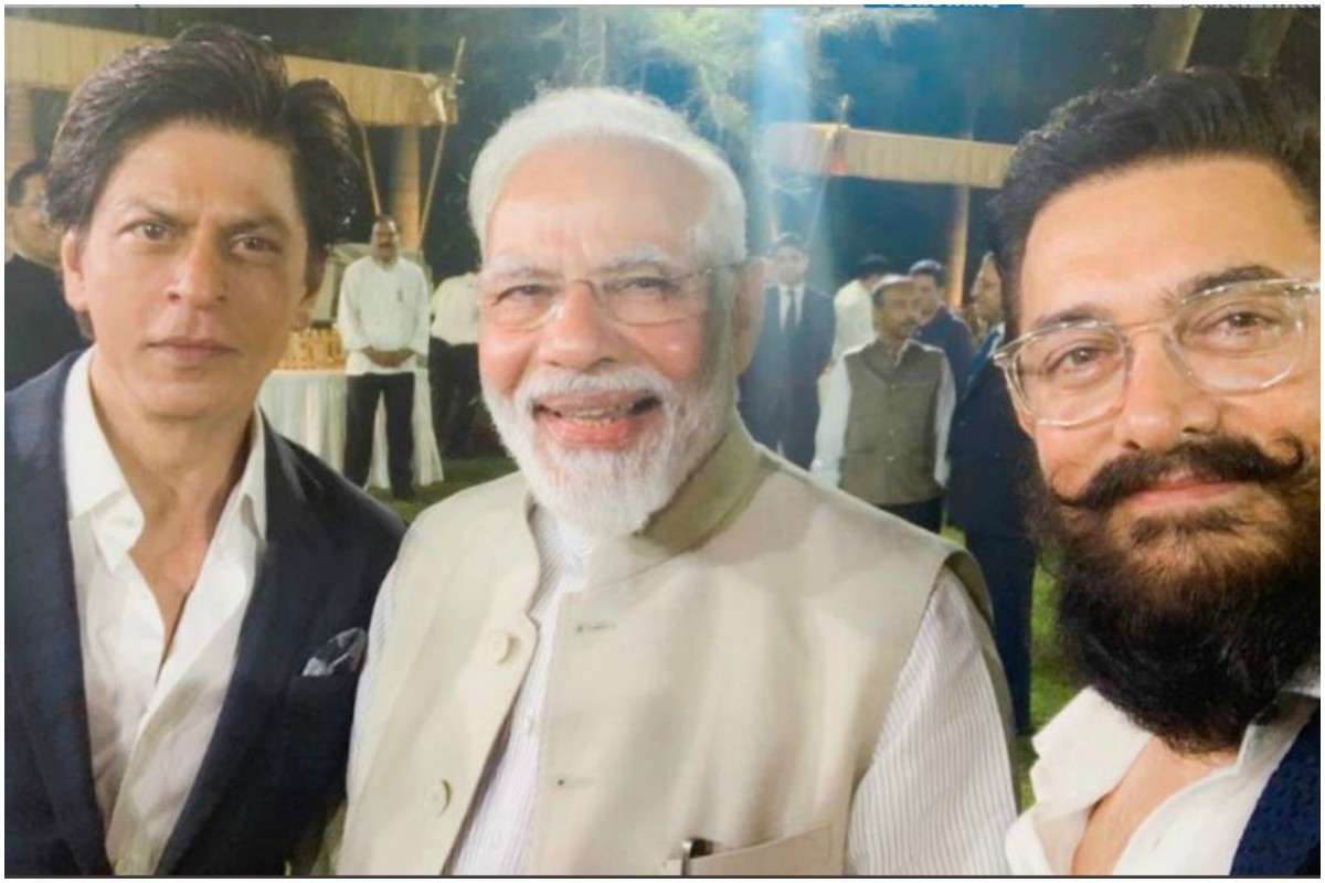 Narendra Modi interacts with film industry; SRK thanks PM for opportunity