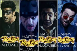 Pagalpanti cast celebrate Halloween in special way